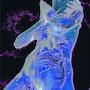 Ange bleu. Clément Perrenx