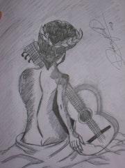 La musa de la música.. Debora Pol