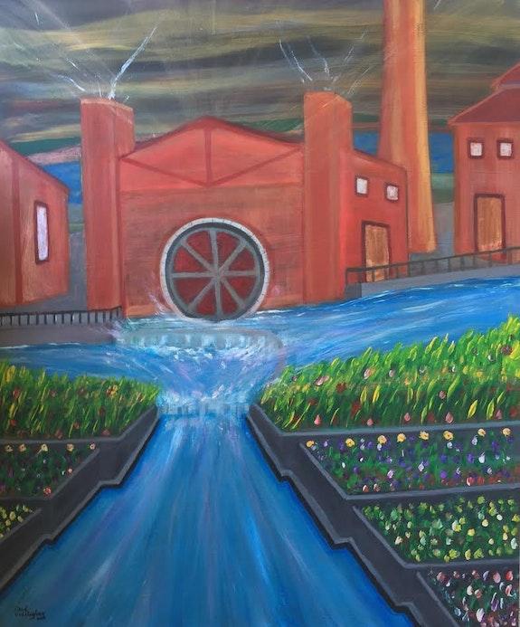 Smarts mill. Paul Cullingham Paul Cullingham