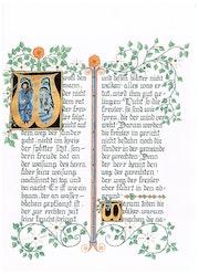Die Psalmen - Handarbeit in dekorativer Buchform, unterschiedliche Ausführung. Ulvera