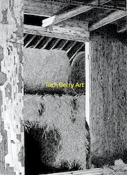 Room full of hay - Storage for hay on an old barn at a dairy farm rural Missouri.