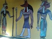 Anubis musicante. Kalimera