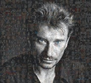 Johnny Hallyday Blue Eyes.