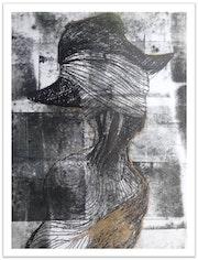 De la serie Fragmento de una Trayectoria, Hombre con Sombrero. Jose Alberto Rodríguez
