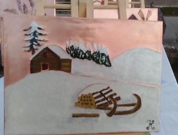Chalet d'alpage. Karine Karine Carreres Belkasmi