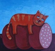 » Happy cat». Happy Art Olga