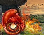Gardien du Temple. Ana Maïa Fantasy Art