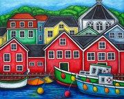 Colours of Lunenburg.