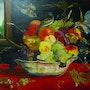 Le panier de fruits et l'envol des oiseaux.. Scali'arts