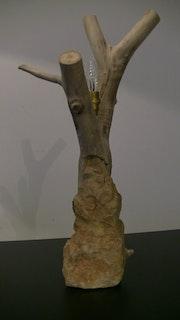 Pied de lampe 1. Chris Créatis