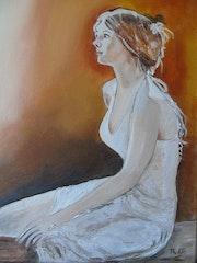 Jeune femme. Marie Robin