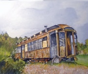Trolley. Art By Alan