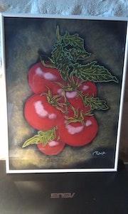 Grappe de tomates. Fantou16