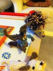 Petits animaux au crochet. Vassiliki