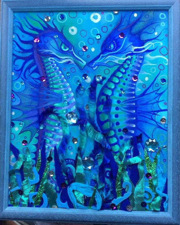 Seahorses. Ginny Helsen Seahorseart
