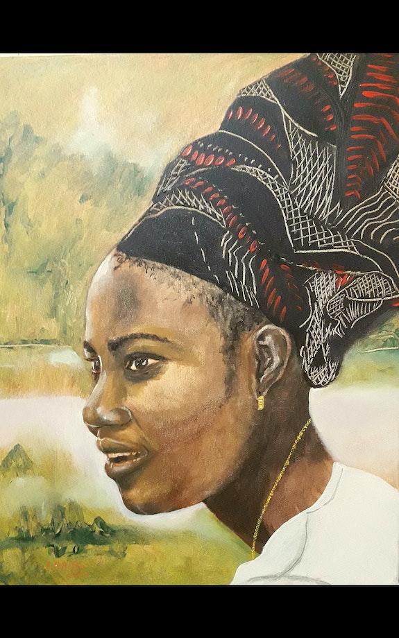 The pretty girl from Benin city. Jose Antonio Arias Jose Antonio Arias