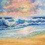 Surreal Sea. Seahorseart