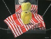 Pomme au miroir 2002.