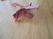 Biplan Origami.