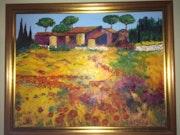 La bastide sous le soleil du Languedoc.