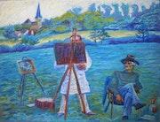 «Die Malerfreunde ii».