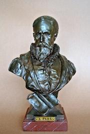 Buste d'Ambroise Paré. Marc Menzoyan Antiquités