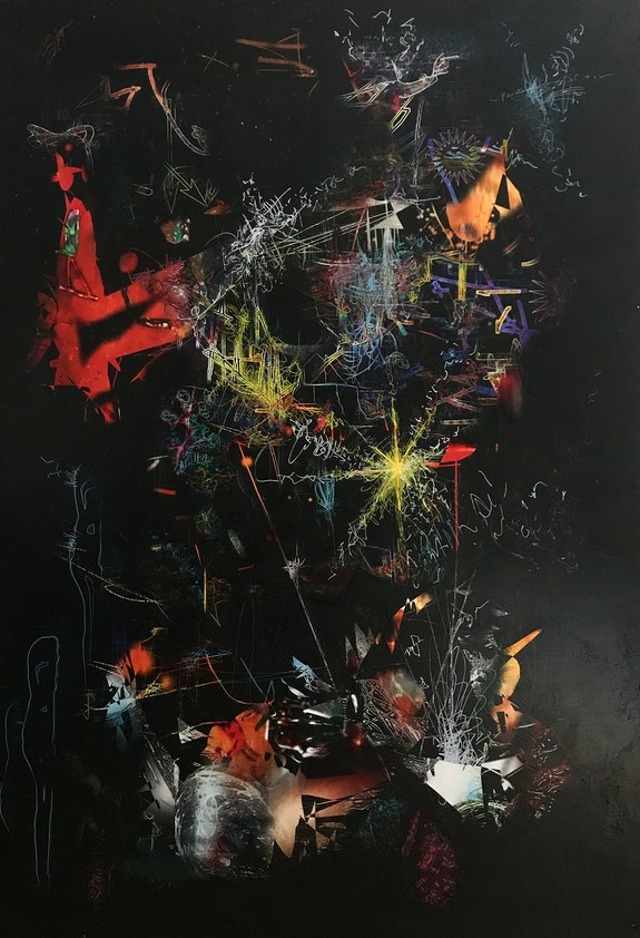 Symboles 1 (Jeu des différences; tableaux jumeaux). Patrick Chartol Patrick Chartol