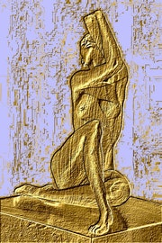 Femme en or. Marie Carteron