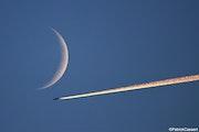 Flèche de feu sous la lune. Patrick Casaert