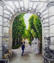 Les demoiselles de Fontainebleau.