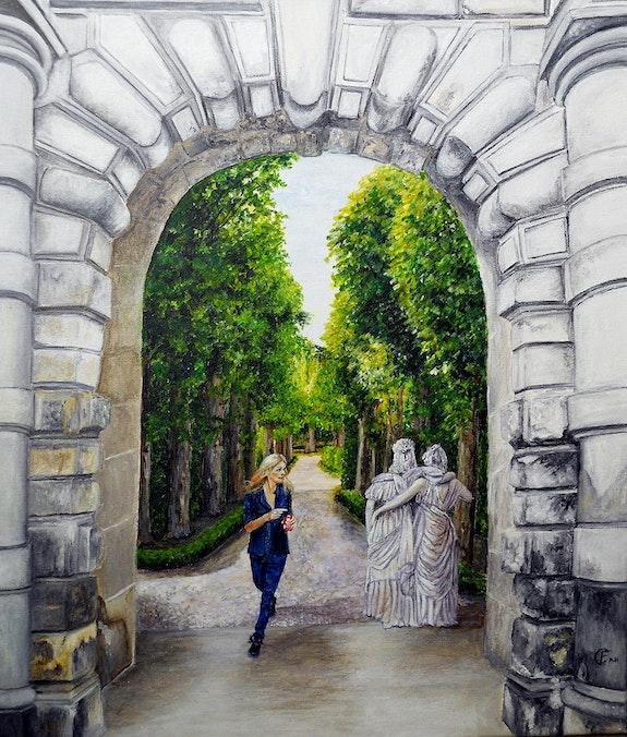 Les demoiselles de Fontainebleau. Frany Couvrat Frany Couvrat