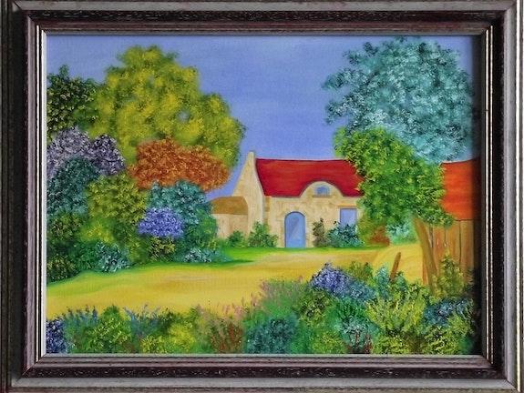Ferme dans la campagne bretonne. Gerard Flohic Gerard Flohic