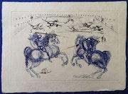 Les cavaliers bleus. Golden Century Europe