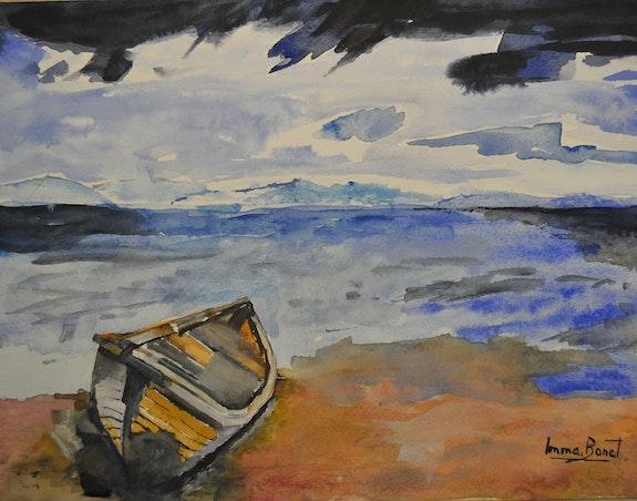 Restes de barca. Imma Banet Imma Banet Illa