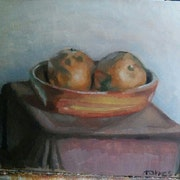 Dos naranjas.