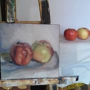 Dos manzanas.