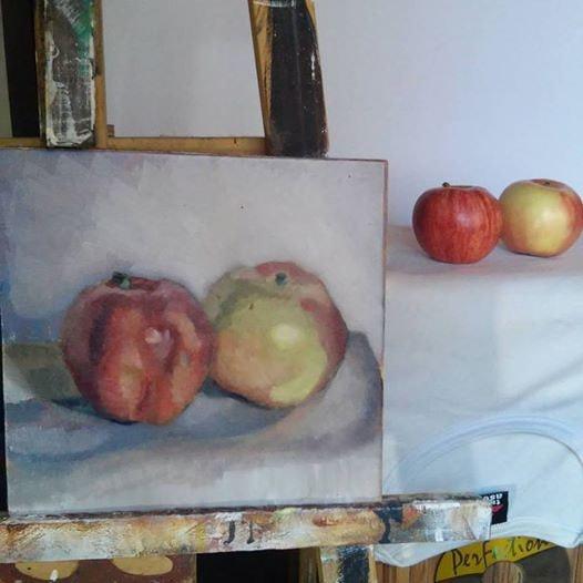 Dos manzanas. Federico Torres Torres