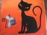 Chat et souris ! Cadeau inattendu….