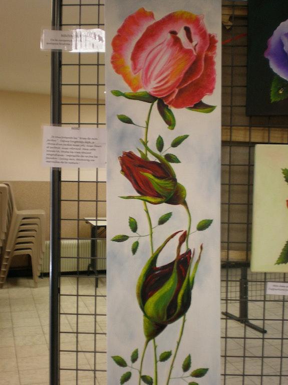 Roses. Leleu B. Brigitte Leleu