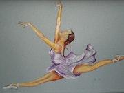 Danseuse. Brigitte Leleu