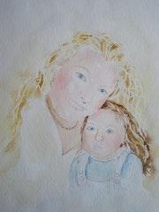 Mère et fille.