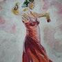 Danseuse flamenco. Brigitte Leleu