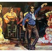 Baile flamenco. J. Martos Latorre