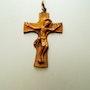 Tres belle croix en bronze massif. Golden Century Europe