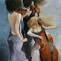 Les Musiciennes. Marie Colin
