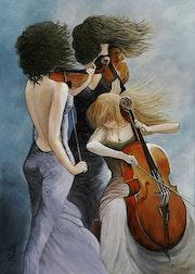 Les Musiciennes.