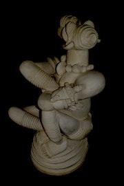 La fierté sur socle. Boura Mali Art