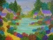 L'étang de Saint Jacques.