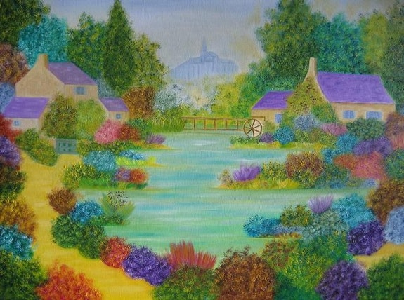 L'étang de Saint Jacques. Gerard Flohic Gerard Flohic
