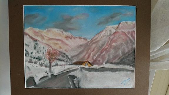Montagne d'Orcieres Merlette. Nicole Retureau